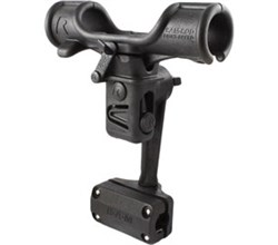 Rod Holders ram mount ram rod light speed with rail mount rap 370 r