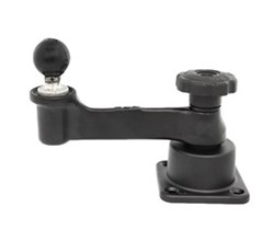 Marine Swing Arms ram mounts horizontal 6 inch swing arm mount with ball